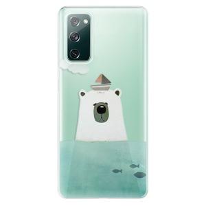 Odolné silikonové pouzdro iSaprio - Bear With Boat na mobil Samsung Galaxy S20 FE / Samsung Galaxy S20 FE 5G