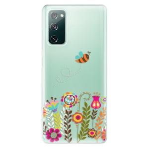 Odolné silikonové pouzdro iSaprio - Bee 01 na mobil Samsung Galaxy S20 FE / Samsung Galaxy S20 FE 5G