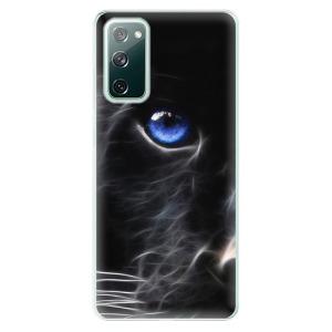 Odolné silikonové pouzdro iSaprio - Black Puma na mobil Samsung Galaxy S20 FE / Samsung Galaxy S20 FE 5G
