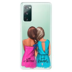 Odolné silikonové pouzdro iSaprio - Best Friends na mobil Samsung Galaxy S20 FE / Samsung Galaxy S20 FE 5G