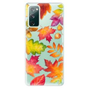 Odolné silikonové pouzdro iSaprio - Autumn Leaves 01 na mobil Samsung Galaxy S20 FE / Samsung Galaxy S20 FE 5G