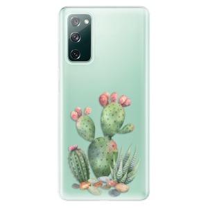 Odolné silikonové pouzdro iSaprio - Cacti 01 na mobil Samsung Galaxy S20 FE / Samsung Galaxy S20 FE 5G
