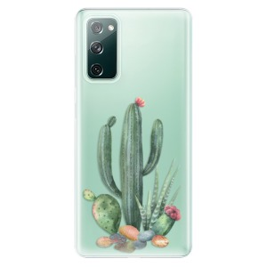 Odolné silikonové pouzdro iSaprio - Cacti 02 na mobil Samsung Galaxy S20 FE / Samsung Galaxy S20 FE 5G
