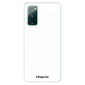 Odolné silikonové pouzdro iSaprio - 4Pure - bílé na mobil Samsung Galaxy S20 FE / Samsung Galaxy S20 FE 5G