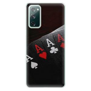 Odolné silikonové pouzdro iSaprio - Poker na mobil Samsung Galaxy S20 FE / Samsung Galaxy S20 FE 5G