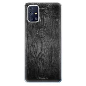 Odolné silikonové pouzdro iSaprio - Black Wood 13 na mobil Samsung Galaxy M31s