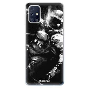 Odolné silikonové pouzdro iSaprio - Astronaut 02 na mobil Samsung Galaxy M31s