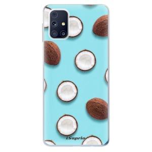 Odolné silikonové pouzdro iSaprio - Coconut 01 na mobil Samsung Galaxy M31s