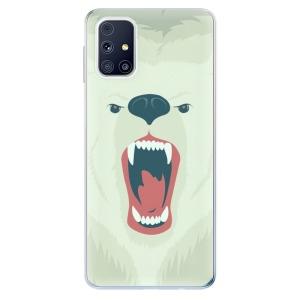 Odolné silikonové pouzdro iSaprio - Angry Bear na mobil Samsung Galaxy M31s