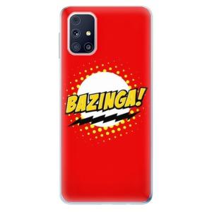 Odolné silikonové pouzdro iSaprio - Bazinga 01 na mobil Samsung Galaxy M31s