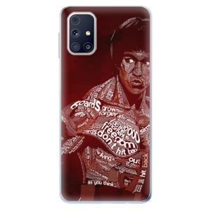 Odolné silikonové pouzdro iSaprio - Bruce Lee na mobil Samsung Galaxy M31s
