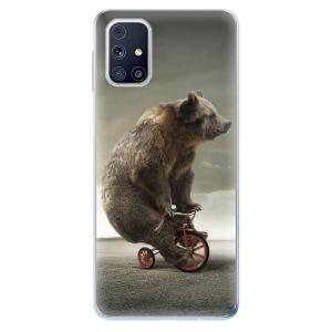 Odolné silikonové pouzdro iSaprio - Bear 01 na mobil Samsung Galaxy M31s