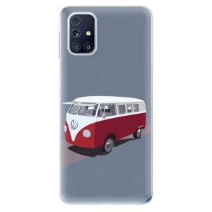 Odolné silikonové pouzdro iSaprio - VW Bus na mobil Samsung Galaxy M31s