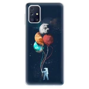 Odolné silikonové pouzdro iSaprio - Balloons 02 na mobil Samsung Galaxy M31s