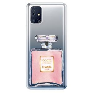 Odolné silikonové pouzdro iSaprio - Chanel Rose na mobil Samsung Galaxy M31s