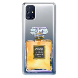 Odolné silikonové pouzdro iSaprio - Chanel Gold na mobil Samsung Galaxy M31s