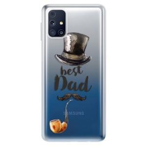 Odolné silikonové pouzdro iSaprio - Best Dad na mobil Samsung Galaxy M31s
