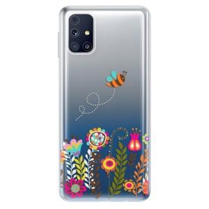 Odolné silikonové pouzdro iSaprio - Bee 01 na mobil Samsung Galaxy M31s