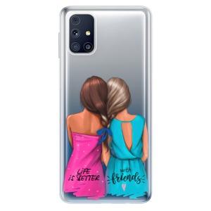 Odolné silikonové pouzdro iSaprio - Best Friends na mobil Samsung Galaxy M31s