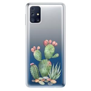 Odolné silikonové pouzdro iSaprio - Cacti 01 na mobil Samsung Galaxy M31s