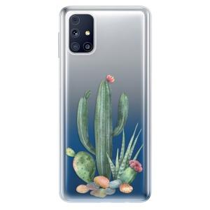 Odolné silikonové pouzdro iSaprio - Cacti 02 na mobil Samsung Galaxy M31s