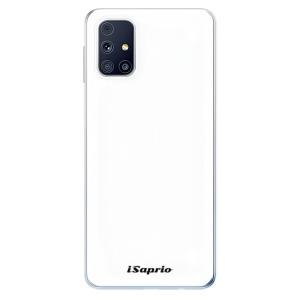 Odolné silikonové pouzdro iSaprio - 4Pure - bílé na mobil Samsung Galaxy M31s