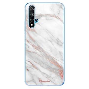 Odolné silikonové pouzdro iSaprio - RoseGold 11 na mobil Huawei Nova 5T / Honor 20 - poslední kousek za tuto cenu