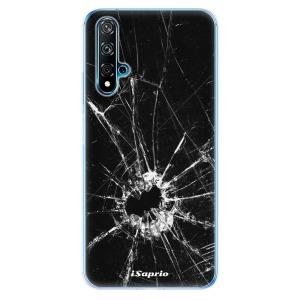 Odolné silikonové pouzdro iSaprio - Broken Glass 10 na mobil Huawei Nova 5T / Honor 20