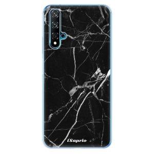 Odolné silikonové pouzdro iSaprio - Black Marble 18 na mobil Huawei Nova 5T / Honor 20