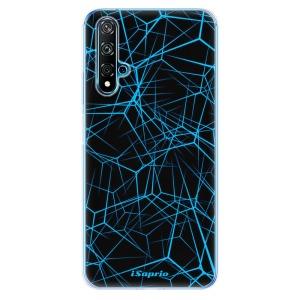 Odolné silikonové pouzdro iSaprio - Abstract Outlines 12 na mobil Huawei Nova 5T / Honor 20