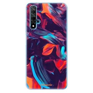 Odolné silikonové pouzdro iSaprio - Color Marble 19 na mobil Huawei Nova 5T / Honor 20