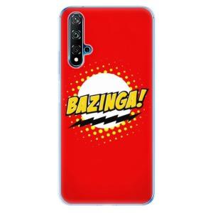 Odolné silikonové pouzdro iSaprio - Bazinga 01 na mobil Huawei Nova 5T / Honor 20