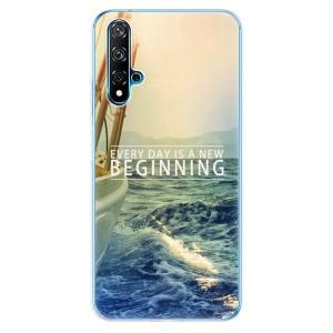 Odolné silikonové pouzdro iSaprio - Beginning na mobil Huawei Nova 5T / Honor 20
