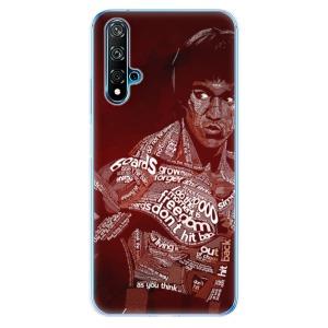 Odolné silikonové pouzdro iSaprio - Bruce Lee na mobil Huawei Nova 5T / Honor 20