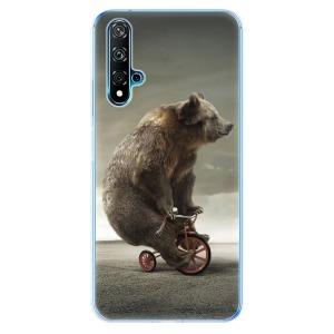 Odolné silikonové pouzdro iSaprio - Bear 01 na mobil Huawei Nova 5T / Honor 20