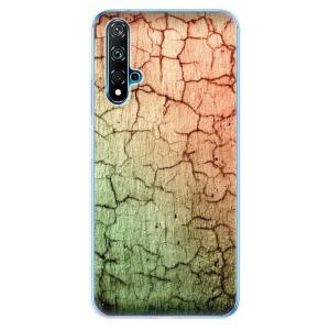 Odolné silikonové pouzdro iSaprio - Cracked Wall 01 na mobil Huawei Nova 5T / Honor 20