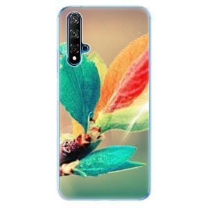 Odolné silikonové pouzdro iSaprio - Autumn 02 na mobil Huawei Nova 5T / Honor 20