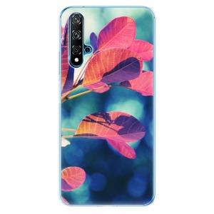 Odolné silikonové pouzdro iSaprio - Autumn 01 na mobil Huawei Nova 5T / Honor 20