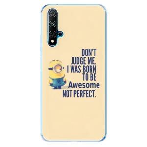 Odolné silikonové pouzdro iSaprio - Be Awesome na mobil Huawei Nova 5T / Honor 20