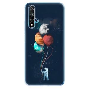 Odolné silikonové pouzdro iSaprio - Balloons 02 na mobil Huawei Nova 5T / Honor 20