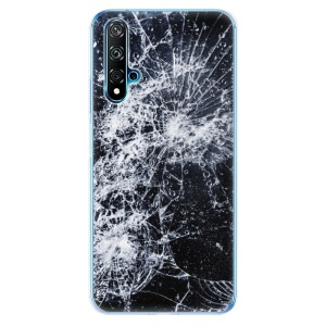 Odolné silikonové pouzdro iSaprio - Cracked na mobil Huawei Nova 5T / Honor 20