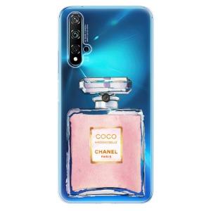 Odolné silikonové pouzdro iSaprio - Chanel Rose na mobil Huawei Nova 5T / Honor 20