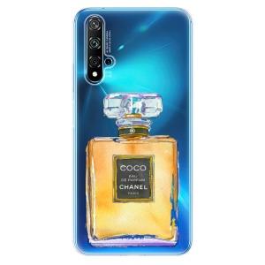 Odolné silikonové pouzdro iSaprio - Chanel Gold na mobil Huawei Nova 5T / Honor 20
