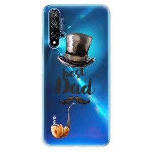 Odolné silikonové pouzdro iSaprio - Best Dad na mobil Huawei Nova 5T / Honor 20