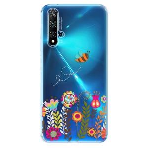 Odolné silikonové pouzdro iSaprio - Bee 01 na mobil Huawei Nova 5T / Honor 20