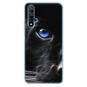 Odolné silikonové pouzdro iSaprio - Black Puma na mobil Huawei Nova 5T / Honor 20