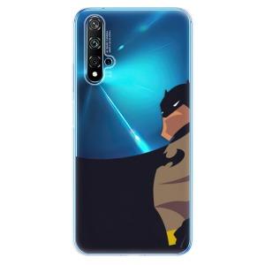 Odolné silikonové pouzdro iSaprio - BaT Comics na mobil Huawei Nova 5T / Honor 20