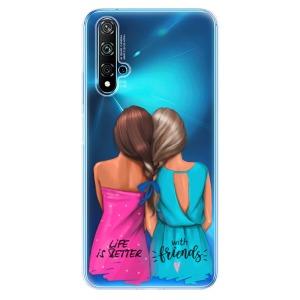 Odolné silikonové pouzdro iSaprio - Best Friends na mobil Huawei Nova 5T / Honor 20