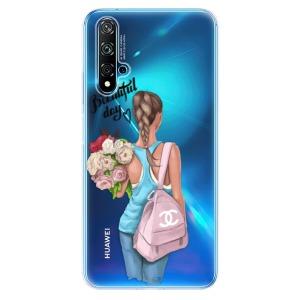 Odolné silikonové pouzdro iSaprio - Beautiful Day na mobil Huawei Nova 5T / Honor 20