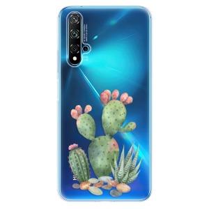 Odolné silikonové pouzdro iSaprio - Cacti 01 na mobil Huawei Nova 5T / Honor 20